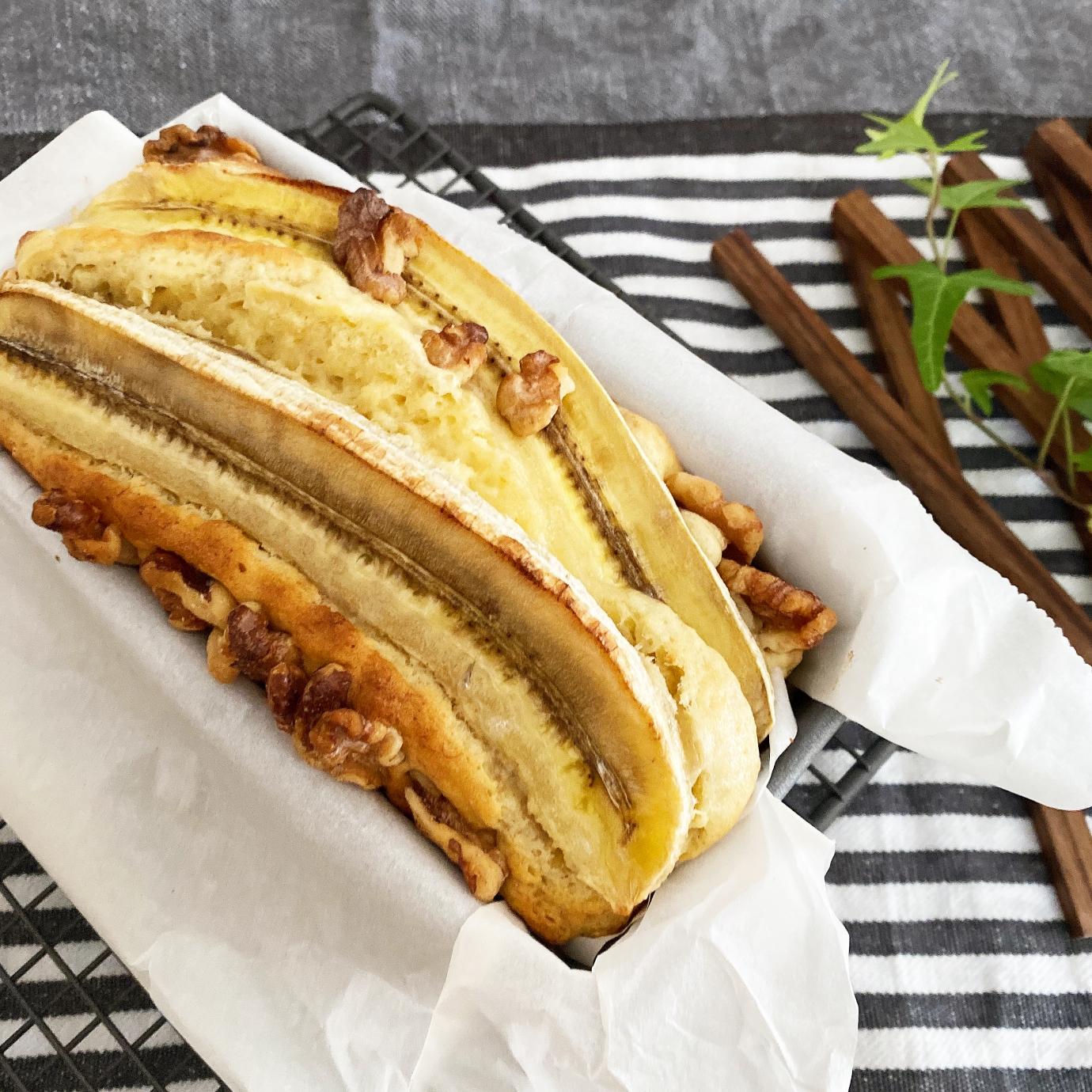 ケーキ バナナ パウンド