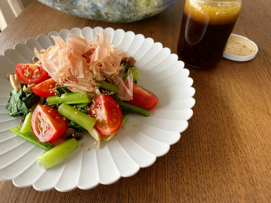 小松菜 サラダ